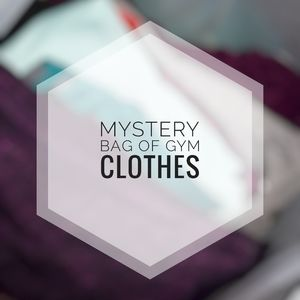 MYSTERY BAG FULL OF GYM CLOTHES